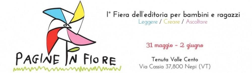 Pagine in Fiore, fiera dell'editoria per bambini, a Nepi: chi ci sarà?