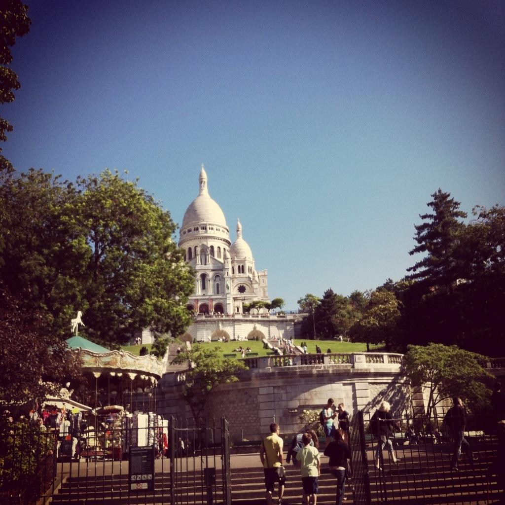 Parigi sacro Cuore - Peekaboo Travel Baby - Viaggio di mamma sola a Parigi