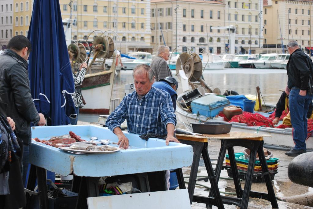 Mercato dei Pescatori al Vecchio Porto - Marsiglia