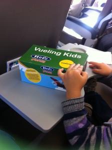 Kids box Vueling