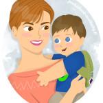Peekaboo Travel Baby Logo