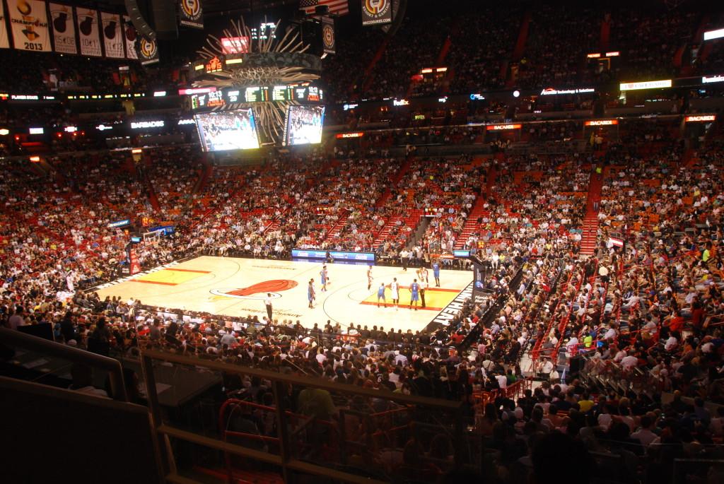 American Airlines Arena - Partita di basket