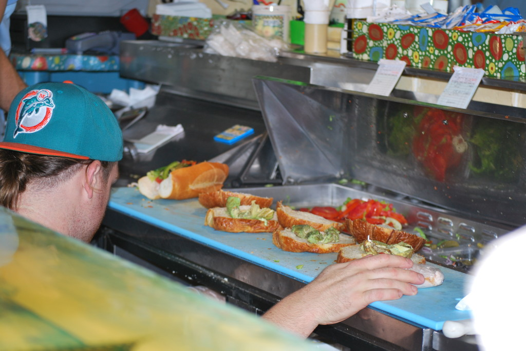 Miami Beach - la sandwicherie