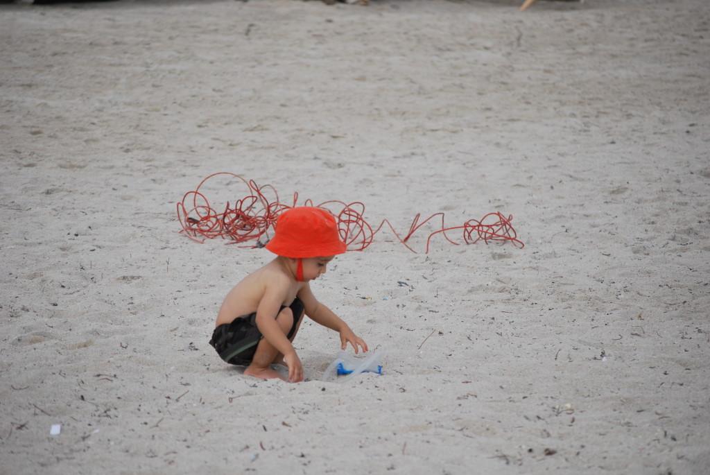 Miami  beach - Peekaboo Travel Baby in spiaggia
