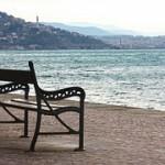 Trieste - Panchina al porto