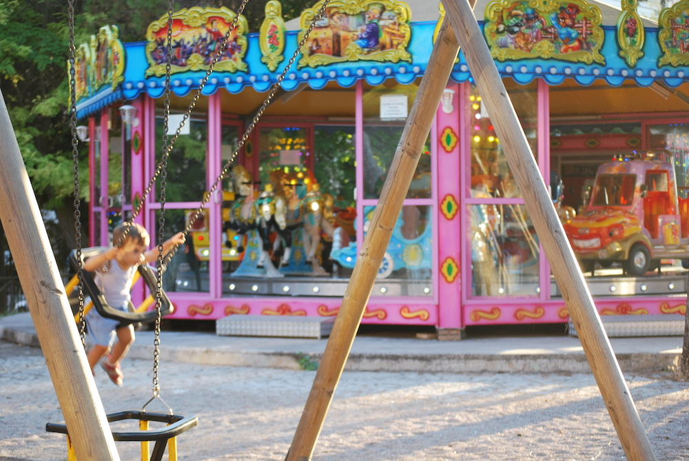 Parco Giochi - Villa Peripato - Peekaboo Travel Baby