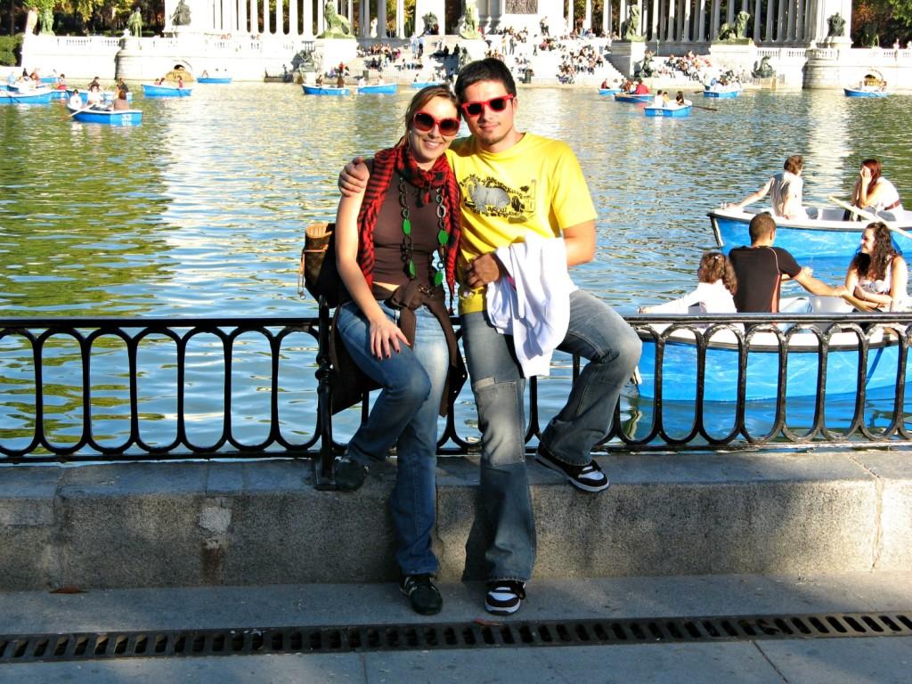 El Retiro - iO e Sir G. - Madrid e mio figlio