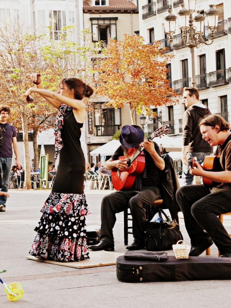 Madrid con mio figlio_Flamenco