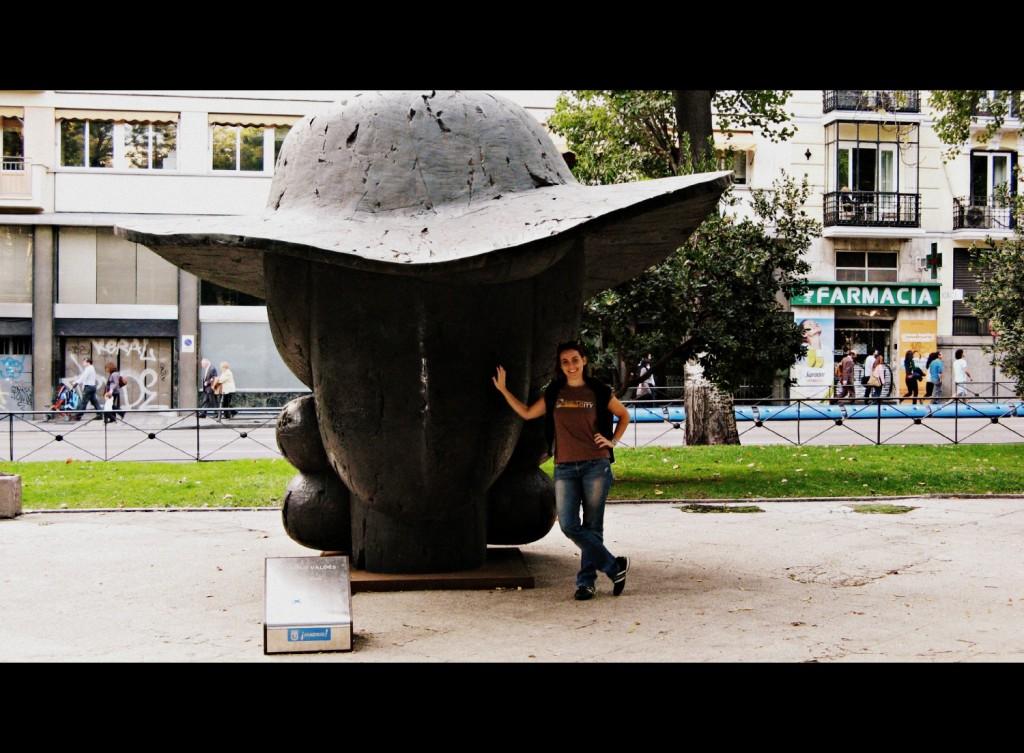 Museo Reina Sofia_Madrid con figlio