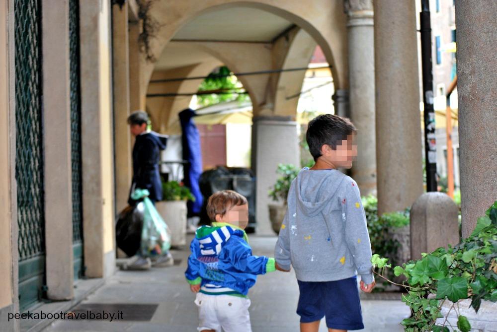 Padova con il piccolo viaggiatore - cometoItaly