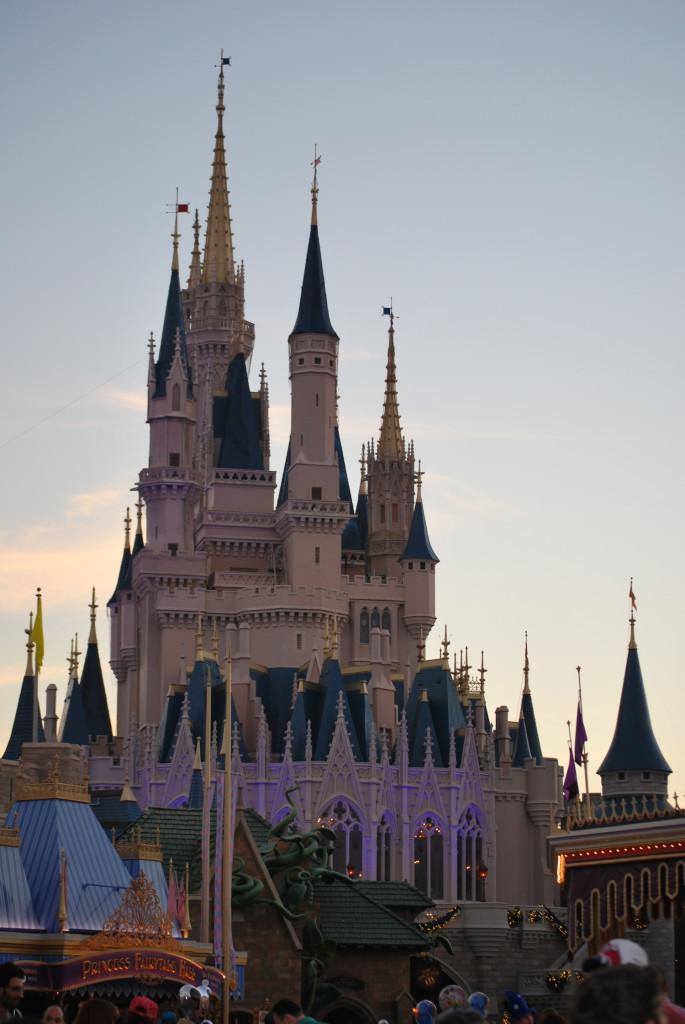 Magic Kingdom - Walt Disney World Orlando  - Castello
