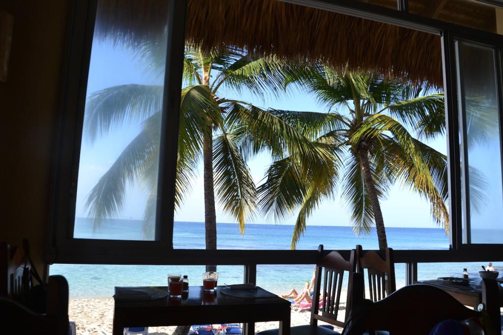 Viaggiare in Repubblica Dominicana con bambini_vista dal ristorante