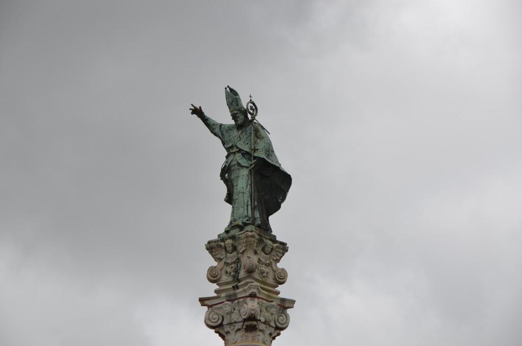 Cosa fare a Lecce in 1 giorno - Peekaboo Travel Baby - Sant'Oronzo