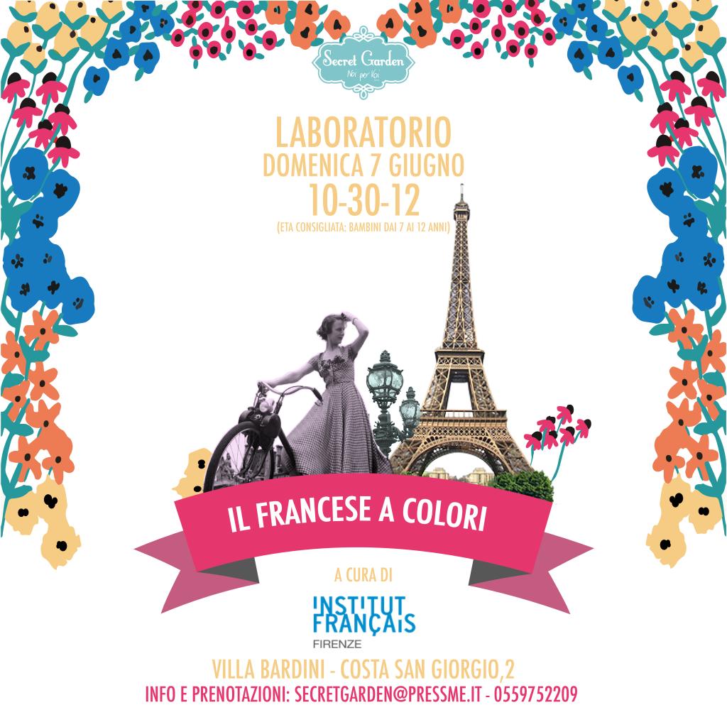 Secret Garden di Firenze - francese a colori