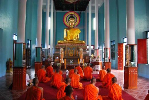 Viaggi e bambini - Monaci Laos