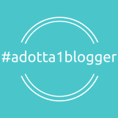 logo #adotta1blogger