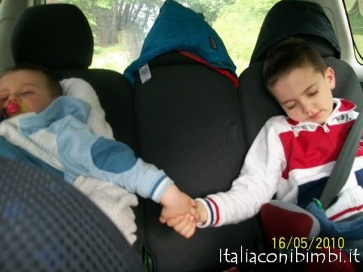 italiaconibimbi - viaggiare con due bambini