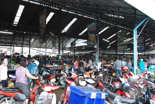 Cibo in laos - mercato 3