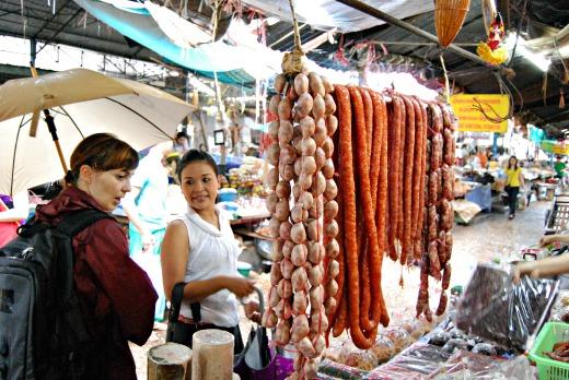 Cibo in laos - mercato 5