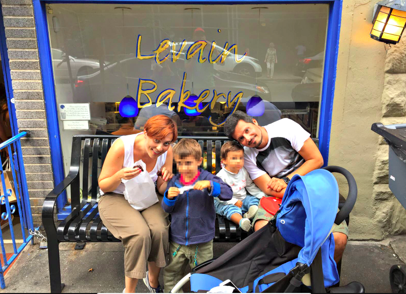 New York con bambini piccolo - Levain Bakery