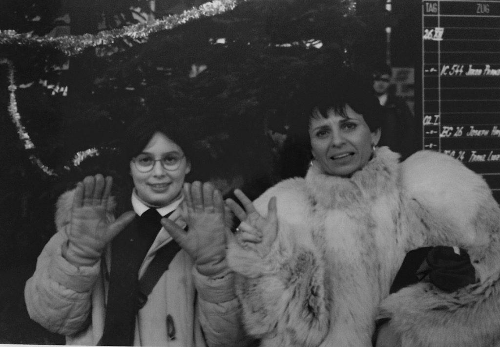 New york con bambini piccoli - Natale a NY 1992