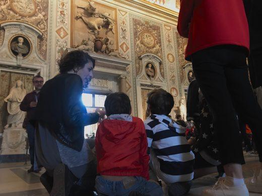 Galleria Borghese con bambini